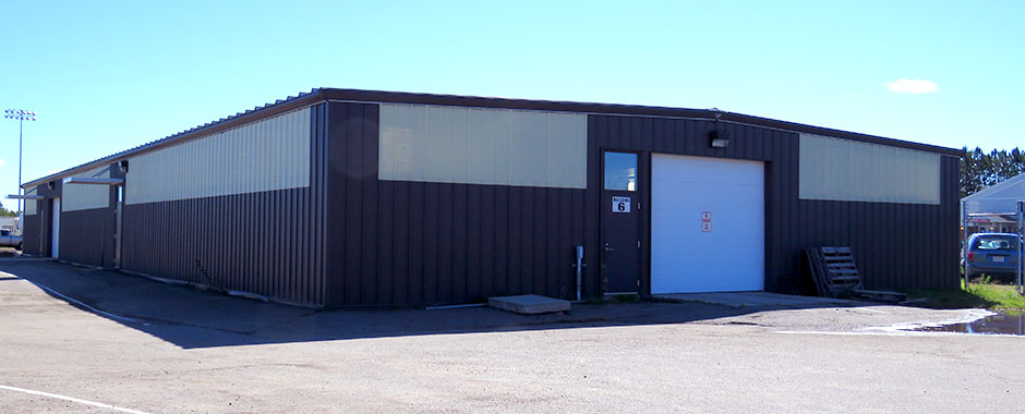 Hibbing Community College Storage Building